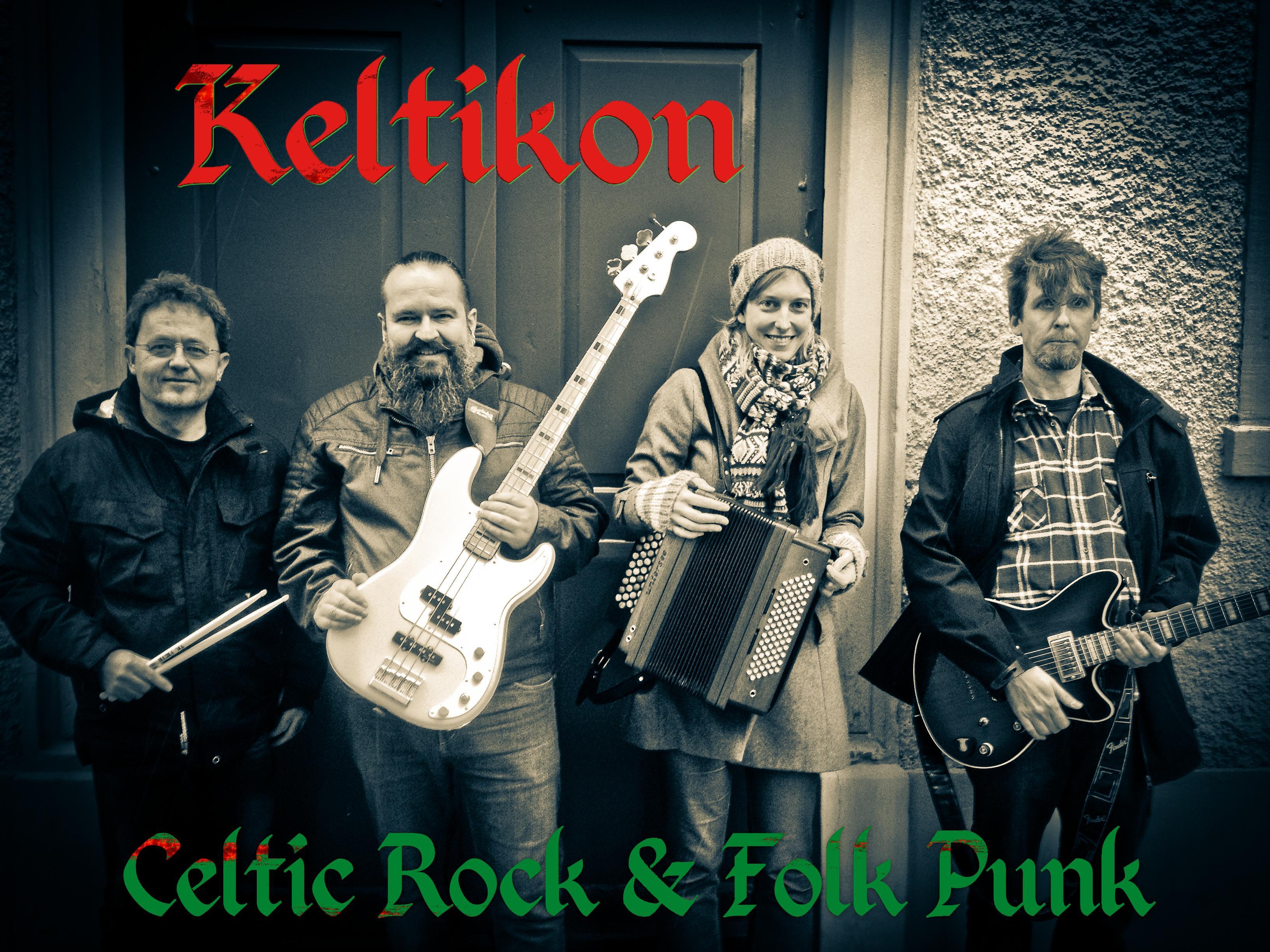 Keltikon Band 2016 sw incl. logo