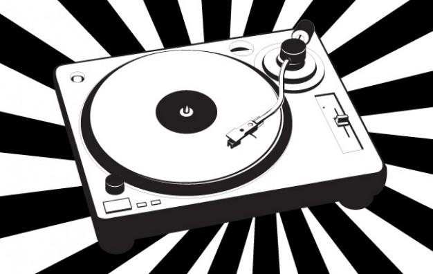 musik-plattenspieler-vektor_72204